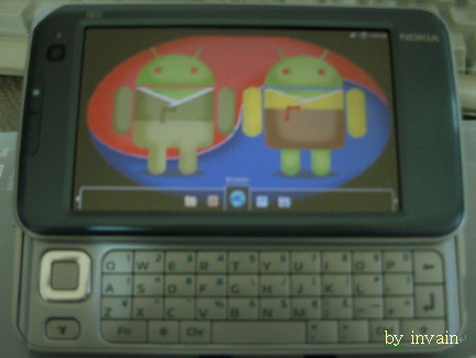 Android Platform on Nokia's N810 Product(arm1136jf-s). n810.kandroid200805.