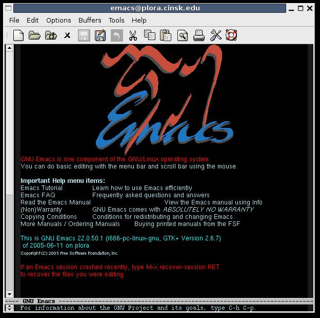 http://wiki.kldp.org/pds/EmacsChangeColors/emacs-splash-colors.png